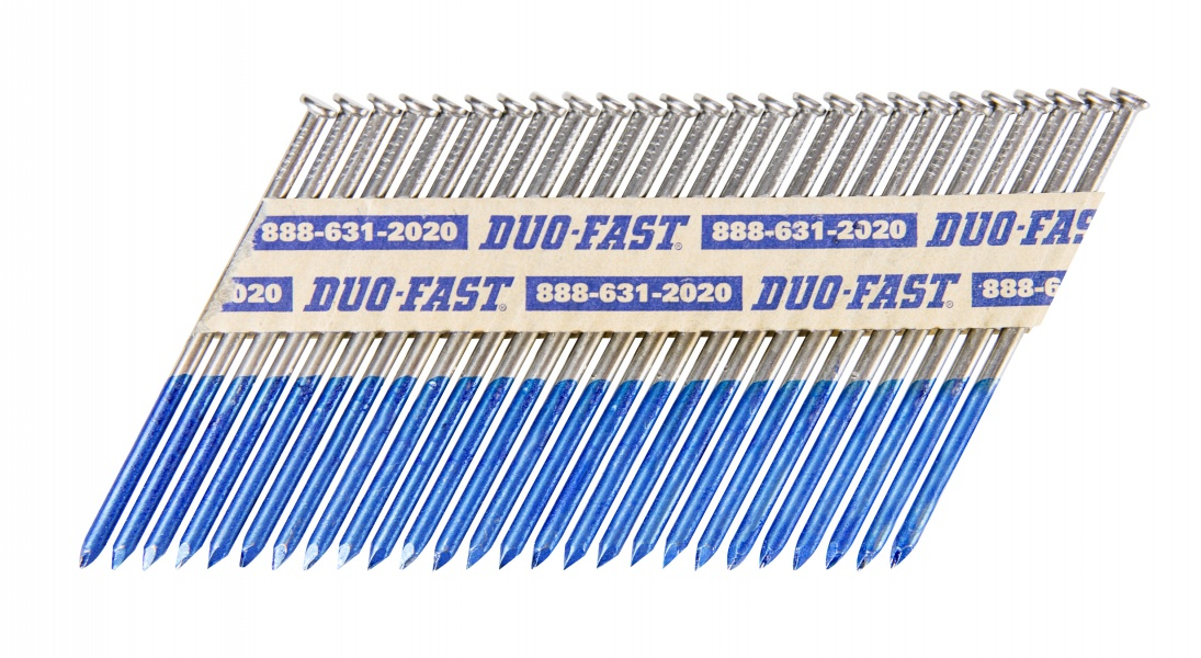 Duo fast strip nails clip head